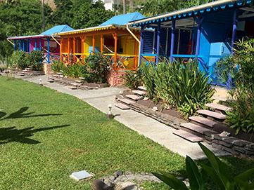 Nid tropical location de vacances g tes et bungalows en for Au jardin tropical guadeloupe