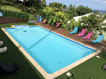 piscine nid tropical