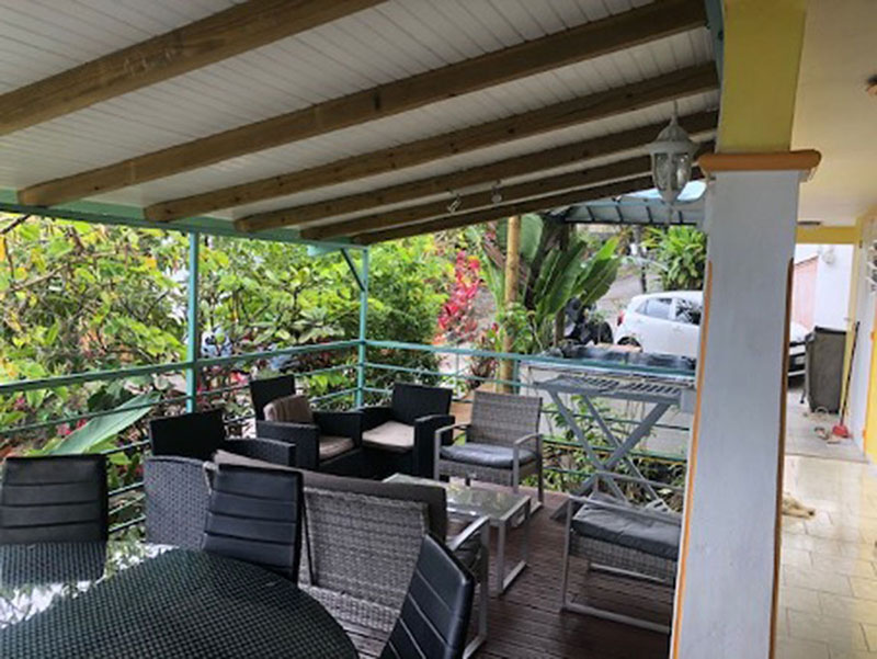 location appartement :  terrasse